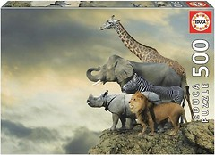 Фото Educa Животные на краю пропасти (16737)