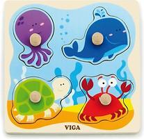 Фото Viga Toys Морские обитатели (50132)