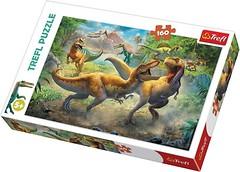 Фото Trefl Боевые тиранозавры (15360)
