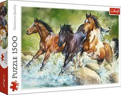 Фото Trefl Три дикие лошади (26148)