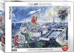 Фото Eurographic Вид на Париж Марк Шагал (6000-0850)