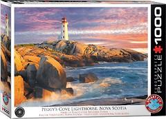 Фото Eurographic Маяк Пегги Коув Новая Шотландия (6000-5437)