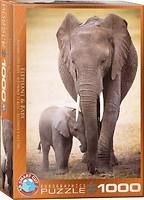 Фото Eurographic Слониха и слоненок (6000-0270)