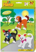 Фото Hama mosaic Термомозаика Собачки и котики (3433)