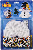 Фото Hama mosaic Термомозаика Снеговик 3D (4096)