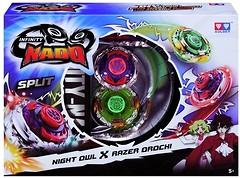 Фото Auldey Beyblade Infinity Nado Split Night Owl и Razer Orochi (YW624604)