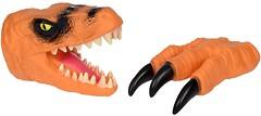 Фото Same Toy Animal Gloves Toys Оранжевый динозавр (AK68623Ut-3)