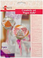 Фото Santi Набор для творчества Бумажные шары 3 шт (951918)
