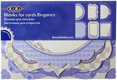 Фото ZiBi Заготовка для открыток Elegance (ZB.18208-AF)