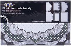 Фото ZiBi Заготовка для открыток Trendy (ZB.18206-AF)