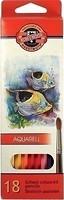Фото Koh-i-Noor Mondeluz Акварельные карандаши Рыбки (3717)