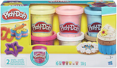 Фото Hasbro Play Doh Набор пластилина с конфетти (B3423)