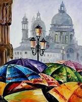 Фото Идейка Яркие зонты (KHO2136)