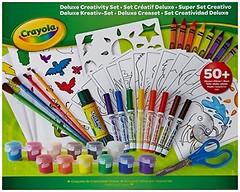Фото Crayola Большой набор для рисования с красками и фломастерами (04-0297)