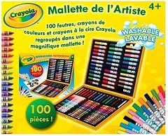 Фото Crayola Набор для творчества в чемоданчике с фломастерами и карандашами (10651)