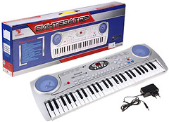 Фото BK Toys Синтезатор с микрофоном (SD5490)