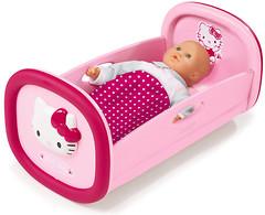 Фото Smoby Колыбель для куклы Hello Kitty (24267)
