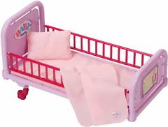 Фото Zapf Creation Baby Born Кроватка для куклы (820247)