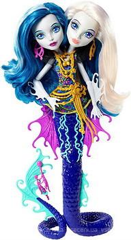 Фото Monster High Пери и Пэрл Серпентайн серии Большой скарьерный риф (DHB47)