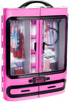 Фото Mattel Барби Шкаф-чемодан для одежды (DMT57)