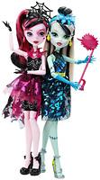 Фото Monster High Набор кукол серии Развлечения в фотобудке (DNX32)