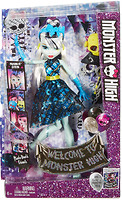 Фото Monster High Фрэнки Штейн Добро пожаловать в школу монстров (DNX32-2)