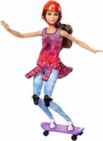 Фото Mattel Барби йога Скейтбордистка (DVF68)
