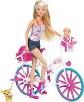 Фото Steffi Love Штеффи с малышом на велосипеде (5739050)