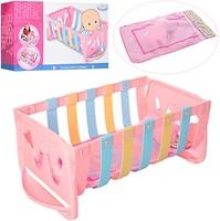 Фото Warm Baby Кроватка для пупса Baby Crib (WZJ018B)
