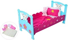 Фото Bambi (Metr+) Кроватка для пупса (M3836-07)