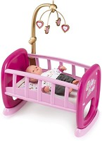 Фото Smoby Baby Nurse Колыбель с мобилем (220328)