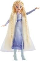 Фото Hasbro Disney Frozen 2 Эльза с аксессуарами для волос (E6950/E7002)