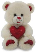 Фото Lava Медведь белый блестящий с сердцем (LF1060)