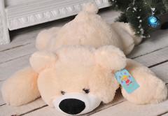 Алина Медведь лежачий Умка 100 см (МЛУ2.5)