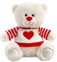 Lava Медвежонок Сэмми в свитере с сердечком (LA8733D)