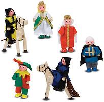 Фото Melissa & Doug Деревянные фигурки для рыцарского замка (MD285)