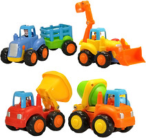 Фото Hola (Huile) Toys Набор машинок грузовичок (326)