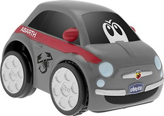 Фото Chicco Машина Fiat 500 Turbo Touch gray (07331.00)