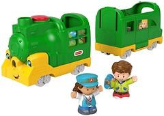 Фото Fisher-Price Little People Friendly Passengers Train (DYF20)