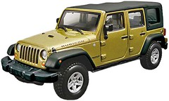 Фото Bburago (1:32) Jeep Wrangler Unlimited Rubicon (18-45121)