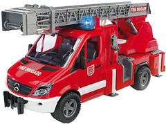 Фото Bruder (1:16) Пожарный Sprinter с лестницей (02532)