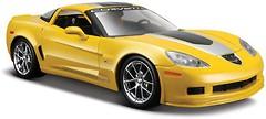 Фото Maisto (1:24) 2009 Chevrolet Corvette Z06 GT1 (31203)