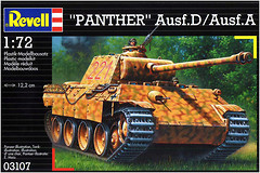 Фото Revell PzKpfw. V Panther Ausf. D/Ausf. A (RV03107)
