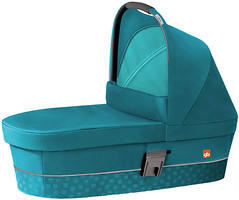 GB Cot M Capri Blue-Turquoise