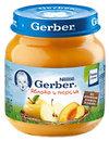 Фото Gerber Пюре яблоко и персик 130 г