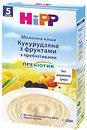 Фото Hipp Каша молочная кукурузная с фруктами и пребиотиками 250 г