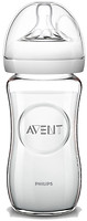 Philips Бутылочка для кормления Avent Natural стеклянная 240 мл (SCF673/17)