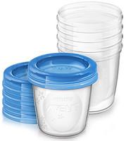 Philips Контейнеры для хранения грудного молока Avent 5 шт. (SCF619/05)