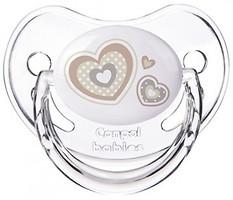Canpol babies Пустышка силиконовая анатомическая Newborn Baby 0-6 мес (22/565)