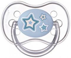Фото Canpol babies Пустышка силиконовая симметричная Newborn baby 18+ мес. (22/582)